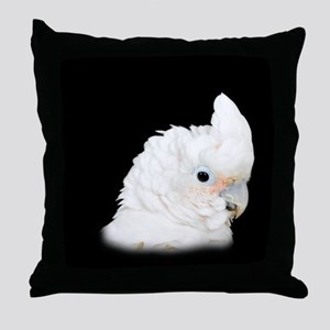 Goffins Cockatoo Throw Pillow