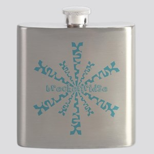 SnowflakeRetroBreckenridge Flask