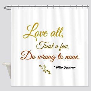 Love All ... Shower Curtain