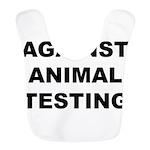animaltestingW Bib