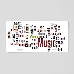 music5 Aluminum License Plate