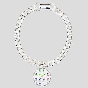 standard-model-dk Charm Bracelet, One Charm