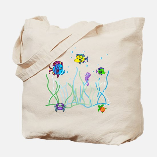 Under the Sea Design Tote Bag