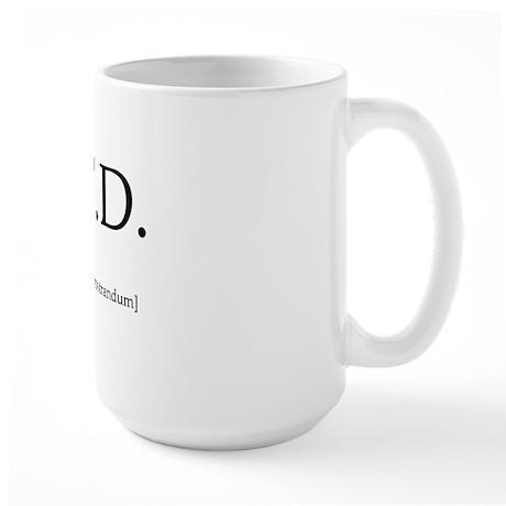 qed-apparel Large Mug