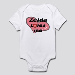 zelda loves me  Infant Bodysuit