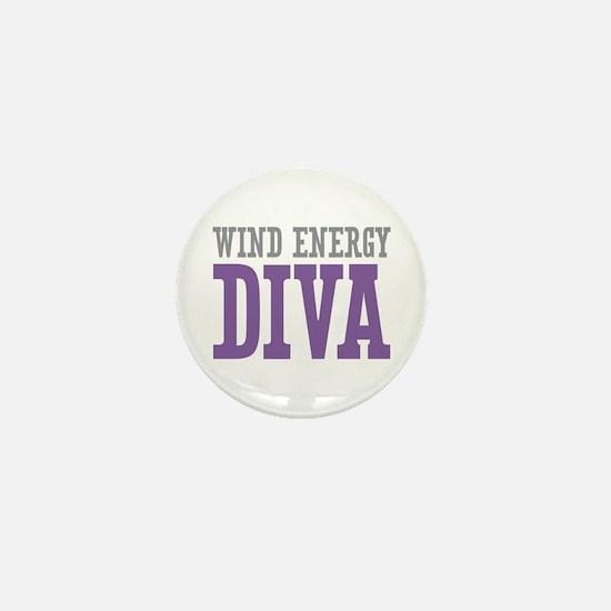 Wind Energy DIVA Mini Button