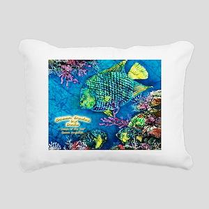 queenofthesea-angelfish1 Rectangular Canvas Pillow