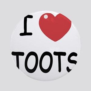 TOOTS Round Ornament