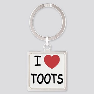 TOOTS Square Keychain
