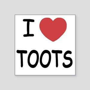 "TOOTS Square Sticker 3"" x 3"""