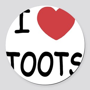 TOOTS Round Car Magnet