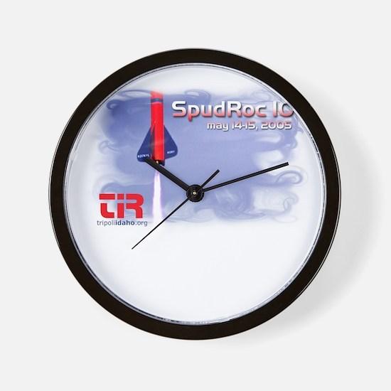 tir-shirt-spudroc-10 Wall Clock