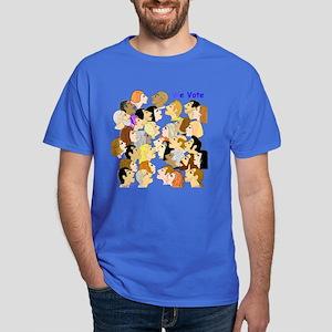 We Vote Dark T-Shirt