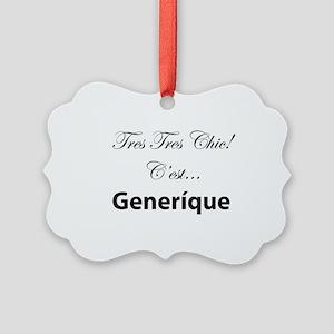Generique Picture Ornament