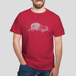 Lion Sketch Dark T-Shirt