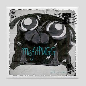 MisfitPUGGstamp Tile Coaster