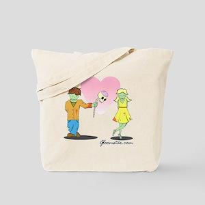 Zombie Valentine Small Tote Bag