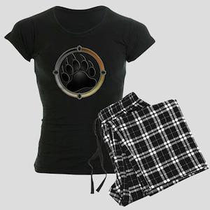 Bear Paw In Pride Circle Women's Dark Pajamas