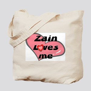 zain loves me Tote Bag