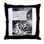 The Limited Mail 1899 Throw Pillow