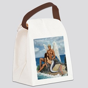 but where would they live mousema Canvas Lunch Bag