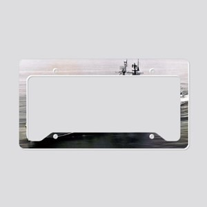 nnews framed panel print License Plate Holder
