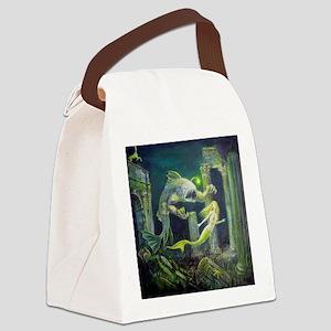 stalker squ Canvas Lunch Bag