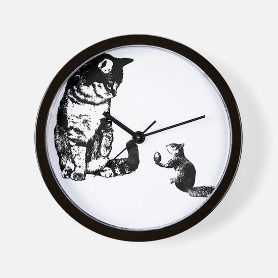 Peace Treat Wall Clock