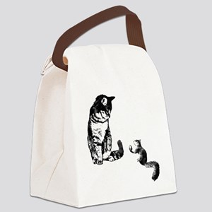 Peace Treat Canvas Lunch Bag
