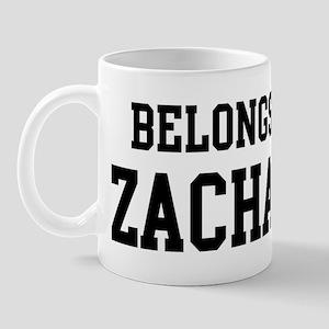 Belongs to Zachary Mug