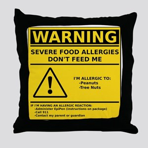 cp_warning__p_t Throw Pillow