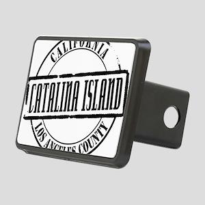 Catalina Island Title W Rectangular Hitch Cover