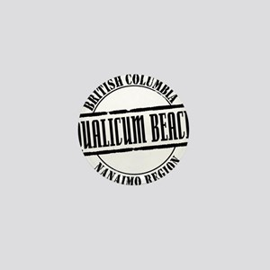 Qualicum Beach Title W Mini Button