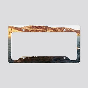 hwtucker ddr lare framed prin License Plate Holder