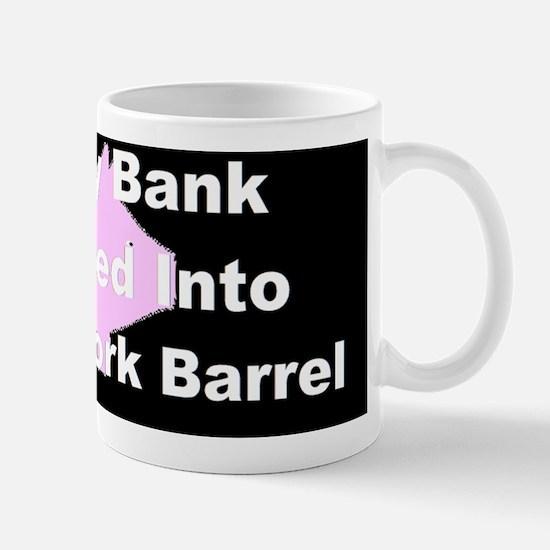 anti obama my piggy_bank_3dbuttonbump Mug