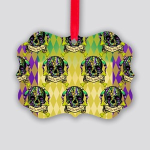 MBbeadPirPPcLaptp Picture Ornament
