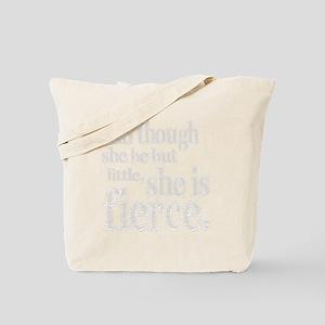 she be little dark Tote Bag