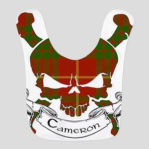 Cameron Tartan Skull Bib