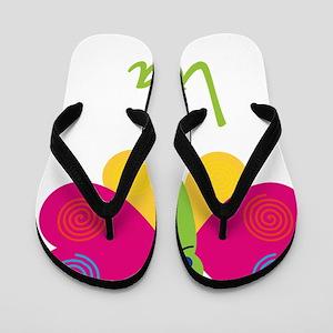 Lola-the-butterfly Flip Flops