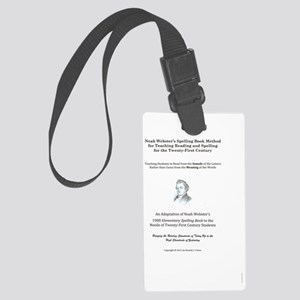 Webstercover Large Luggage Tag