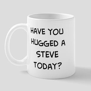 Hugged a Steve Mug