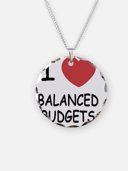 BALANCED_BUDGETS Necklace