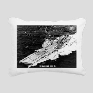 randolph cvs lare framed Rectangular Canvas Pillow
