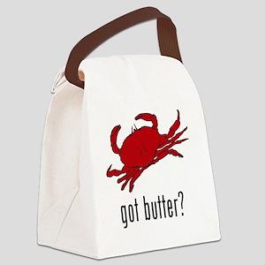 got butter Canvas Lunch Bag