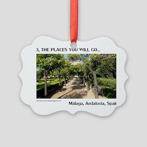 Malaga Picture Ornament