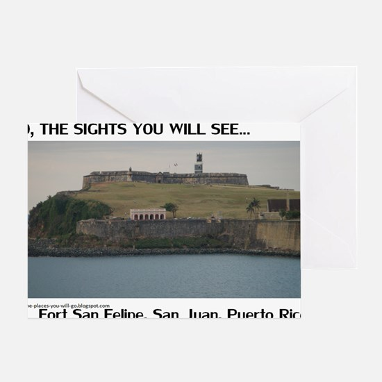 Fort San Felipe Greeting Card