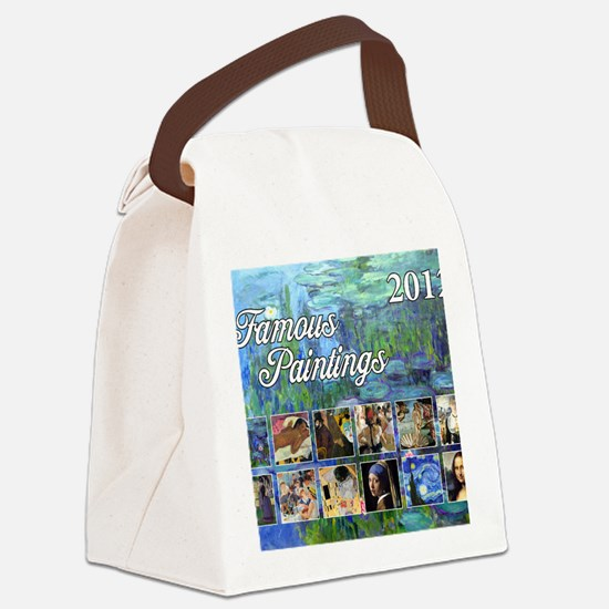 Famous Cover Canvas Lunch Bag