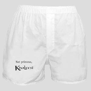 Not Princess, Khaleesi Boxer Shorts