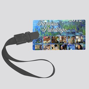 Famous Cover Large Luggage Tag