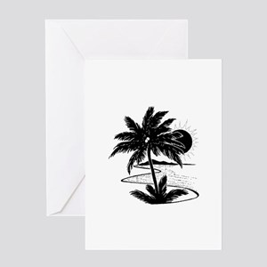 island 3 Greeting Cards